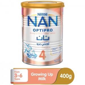 Nestle Nan Optipro Stage 4 (3-6 Years Old) Premium growing-Up Formula Powder Tin 400g