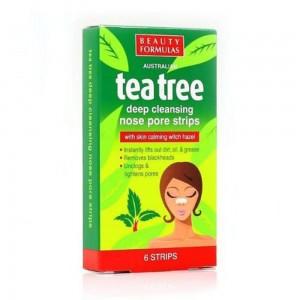 Tea Tree Nose Strips 6'S