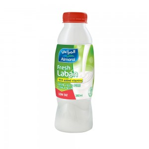 Al-Marai Laban Lf 360Ml Added Vitamins Hdpe