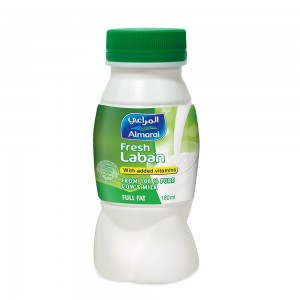 al-Marai Laban Full Fat 180 ml added Vitamins Hdpe