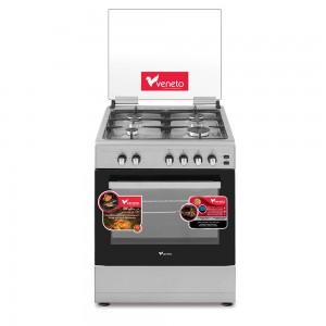 Veneto 60x60 Gas Cooker 4 Burners, C3X66G4VC