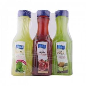Al Rawabi 3X1 Ltr Juice(Pomegranate + Kiwi +Lemon Mint)
