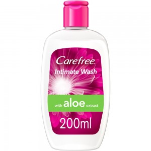 CAREFREE®, Intimate Wash, with Aloe, 200ml