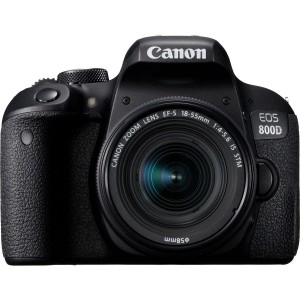 Canon EOS 800D 24.2MP DSLR Camera With 18-55mm IS STM Lens Kit