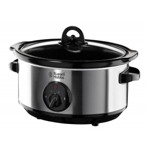 Russell Hobbs Slow Cooker, 3.5L - S/S Silver, 19790