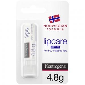 Neutrogena, Lip Moisturiser, Norwegian Formula, SPF20, 4.8g