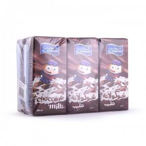 Al Rawabi Long Life Milk Chocolate 6X200 Ml