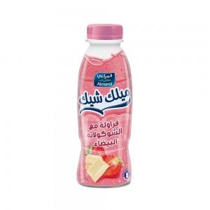 Almarai Milkshake Strawberry & W.Choc 340Ml Hdpe