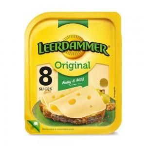 Leerdammer Original Cheese Slices, 8 Slices, 160g