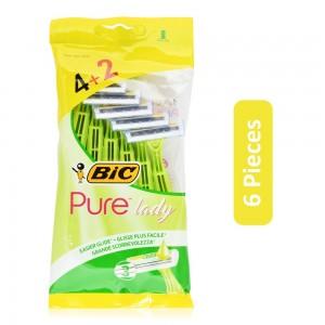 Bic Pure Lady Blade Razor - 6 Pieces