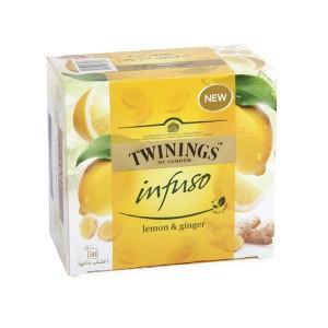 Twining Infuso Lemon&Ginger - 50'S