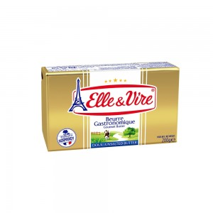 Elle &Vire Butter 82% Unsalted - 200 gm (Gold)