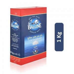 La Baleine Iodized Coarse Sea Salt - 1 Kg