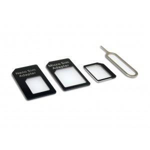 Sandberg Sim Card Adapter Kit 4 In 1