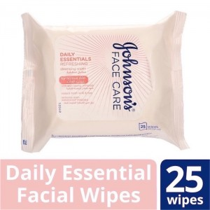 Johnson's De Facial Wipes Normal Skin 25 Pcs