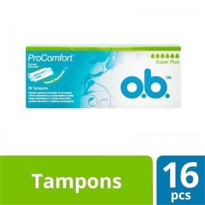 O.B. Pro Comfort 16 Super Plus Tampons