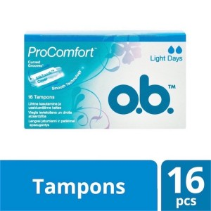 O.B. – Swabs, Easy Insertion and reliable Protection – 16 PIECES