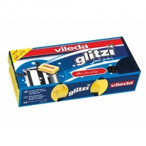 Vileda Glitzi Sponge Scourer Dish Washing High Foam 3Pcs