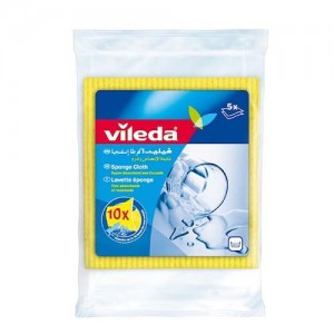 Vileda Sponge Cloth / Cleaning Cloth 5Pcs