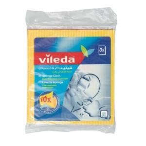 Vileda Sponge Cloth / Cleaning Cloth 3Pcs
