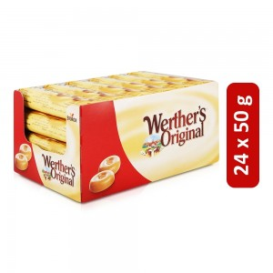 Werthers Original Classic Cream Candies - 24 x 50 g
