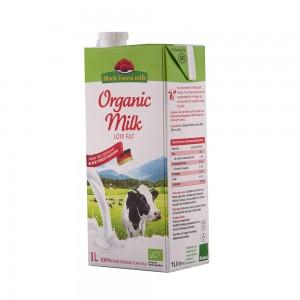 Black Forest Organic Cow Milk Low Fat ( Fat 1.5%)-1L