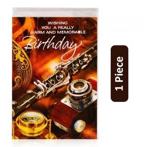 Birthday Card - 1 Piece