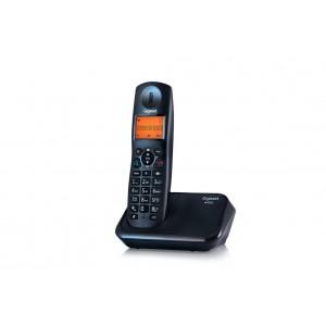 Gigaset Cordless Phone (Black), A450