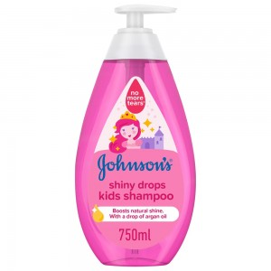 JOHNSON'S, Shampoo, Shiny Drops Kids Shampoo, 750ml