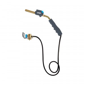 MR. TORCH HZ-8388B Self Igniting 3' Hose Gas Welding Torch, Swirl Flame, Fuel by MAPP/MAP Pro/Propane (Torch)