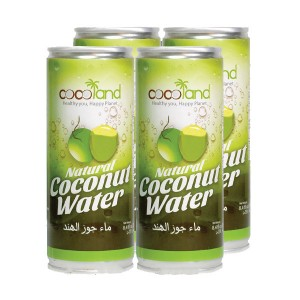 Cocoland Coconut Water(Tin) Off