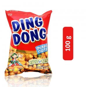 Ding Dong Hot & Spicy Mix Nuts - 100 g