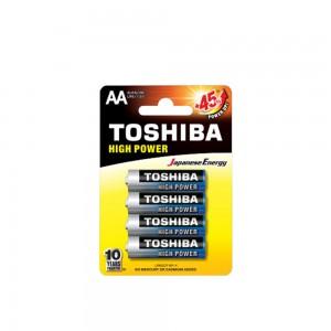 Alkaline - TOSHIBA Battery LR 06 AA 4