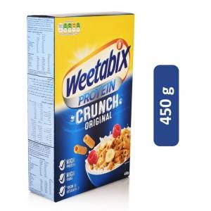 Weetabix Original Protein Crunch Wheat Cereals - 450 g