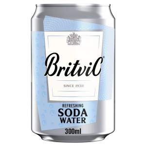 Britvic, Soda Water, 300ml