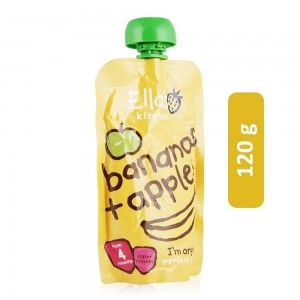 Ella's Kitchen Apples Plus Bananas Fruit Puree - 120 g