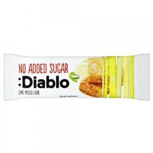 Diablo No Added Sugar Lime Muesli Bar 30g