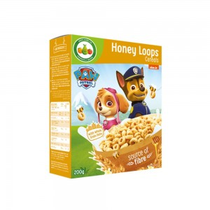 Appy Kids Co Paw Patrol Honey Loops Cereals 200g