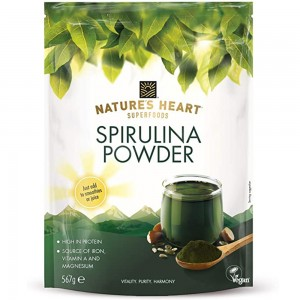 Nature'S Heart Heart Spirulina Powder 567gm
