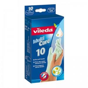 Vileda Multi Care Disposable Gloves 10Pcs S-M
