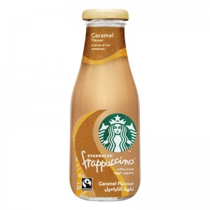 Starbucks Liquid Frappuccino Caramel Flavor Lowfat Coffee - 250 ml