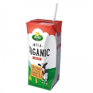 Arla Low Fat Organic Milk - 200 ml