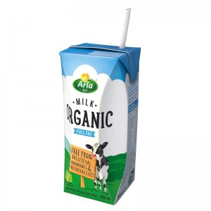 Arla Organic Full Fat Milk 200ml