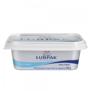 Lurpak Salted Lighter Spreadable Butter Tub 250g