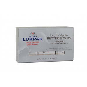 Lurpak Cook's Range Unsalted Pre-measured Butter Blocks 6x50g