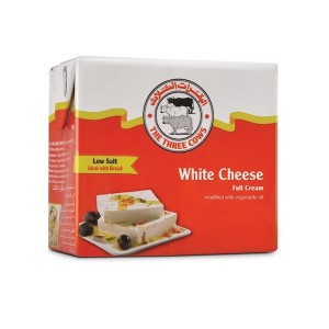 The Three Cows TTC Low Salt White Cheese Red Block 500g