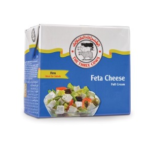 The Three Cows TTC Firm Feta Cheese Blue Block 500g