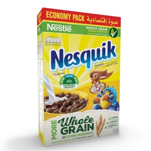 Nestle Nesquik Chocolate Breakfast Cereal 625g