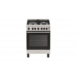 Bompani 60X60 Cm Gas Cooker - 4 Gas Burners, 60GG4BIX/BO613MD