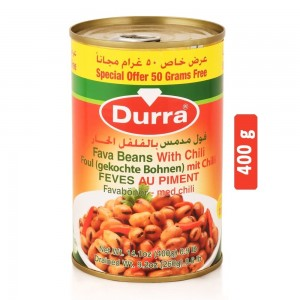 Durra Fava Beans with Chilli - 400 g